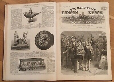 The Illustrated London News 1870 Volume 57 Jul - Dec 1870 with The Graphic 1870