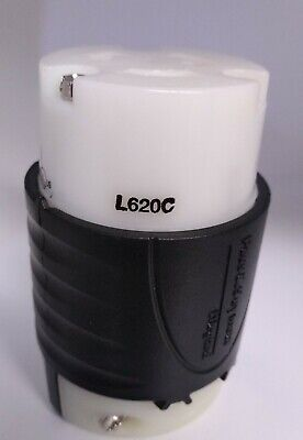 Pass Seymour L620C 20A 250V Industrial Grade TurnLok Plug Connector FREE SHIP
