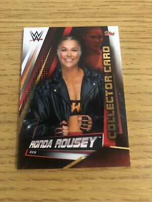 WWE Slam Attax Universe Limited Edition Collector Card Ronda Rousey (CC5)
