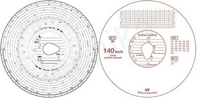 100406 Tachpro Tachograph 180kmh Black Automatic Analogue Tachograph Charts