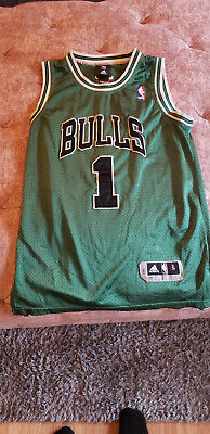 finest selection 0f416 3c4d5 CHICAGO BULLS SMALL Green Mitchell & Ness Authentic ...