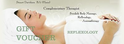 Spa Massage Gift Voucher *REFLEXOLOGY* ~ A perfect treat for tired dancing feet!
