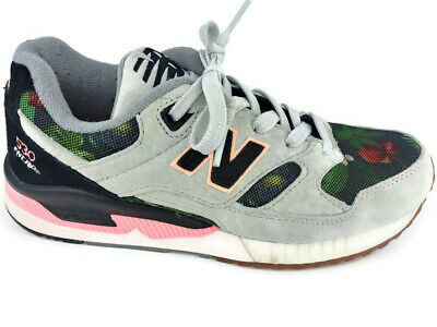 pretty nice cf372 43356 NEW BALANCE 530 Encap Running Shoes Suede Black Coral Floral W530MON US 8  EU 39