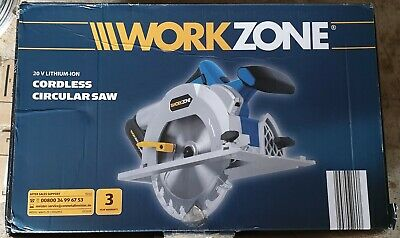 Workzone Li-Ion 20V Circular Saw (battery and charger)