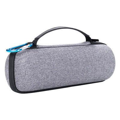 Hard Travel Carry Bag Storage Case Cover Gray For JBL Flip 3/4 BT Speaker.