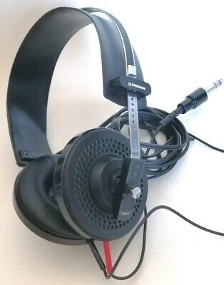 Pioneer SE-4 Vintage Stereo Headphones Made in Japan 1980's Excellent Condition