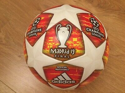 Adidas Authentic  Champions League Final 2019 Football Liverpool Spurs Used Once