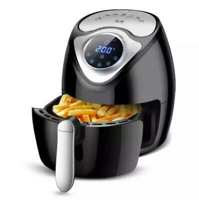Heißluftfritteuse Friteuse Heißluft Fritteuse XXXL Touch Display 7in 1 LCD 5,6L