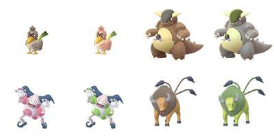 Shiny ✨Regionals✨ Pokemon Go Catch Guaranteed