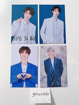 [SEVENTEEN] The8 [4 Card Set] Ode To You World Tour Trading Cards