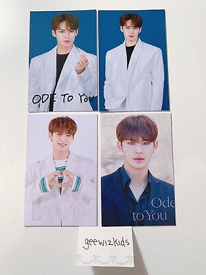 [SEVENTEEN] Mingyu [4 Card Set] Ode To You World Tour Trading Cards