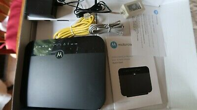 Motorola MD1600 VDSL2/ADSL2+ Modem plus AC1600 WiFi Gigabit Router