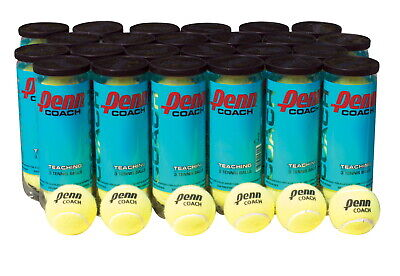 Sportime Penn Coach Practice Tennis Balls, Pack of 3