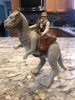 Vintage 1980 Kenner Star Wars ESB Lot Luke Skywalker Hoth And TaunTaun Hong Kong