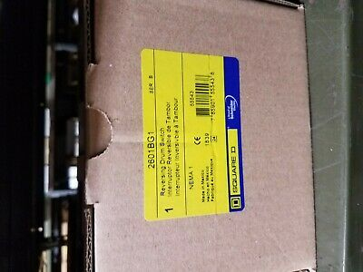 Square D 2601Bg1 Drum Switch New In Factory Box