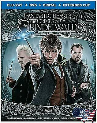 Fantastic Beasts: The Crimes of Grindelwald (Blu-Ray + DVD +Digital+EXTENDED CUT