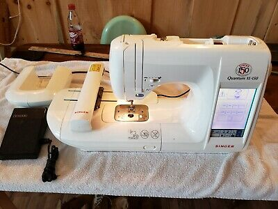 Singer Quantum XL-150 Computerized Embroidery Sewing Machine