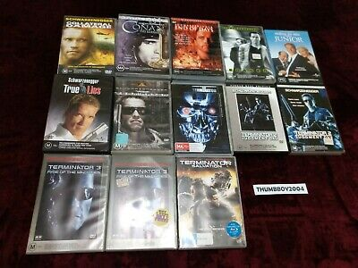 Arnold Schwarzenegger DVD BULK MOVIE Collection Choose film titles from Dropdown