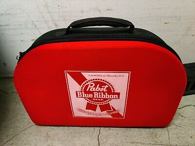 Pabst Blue Ribbon Beer Promotional Advertising Lawn set Bocce Ball Set with Bag