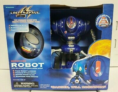 LOST IN SPACE ROBOT Motorized Remote Control 1997 Trendmasters NEW SEALED