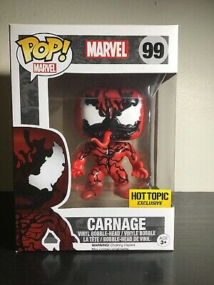 Funko POP! Marvel #99 CARNAGE (Hot Topic Exclusive)