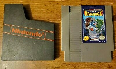 Rampage -- Nintendo NES Game -- Game only -- Genuine Authentic