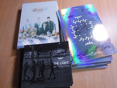 Imfact - The Light , NANANA , ONLY U (Promo SET) with Autographed (Signed)