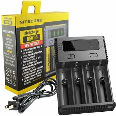 New Nitecore i4 Universal Intellicharger Battery Charger 20700 26650 18650 16340