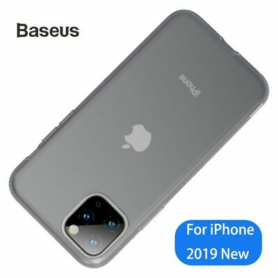 Baseus Ultra Thin Case For iPhone 11 Transparent Liquid Silicone Soft Back Case
