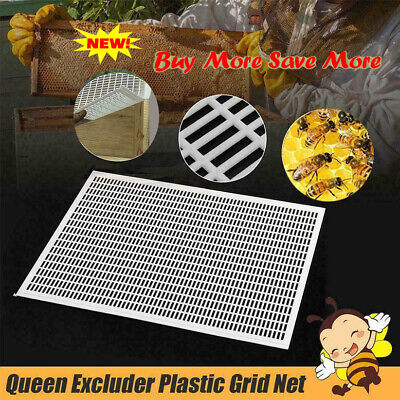10 Frame Beekeeping Beekeeper Bee Queen Excluder Trapping Grid Net Tool