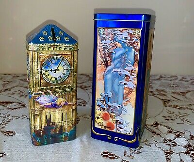 Collectable Churchill Tins x 2