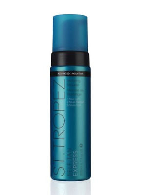 St.Tropez Self Tan Express Bronzing Mousse 200ml. NEW GENUINE SEALED + FREE P&P