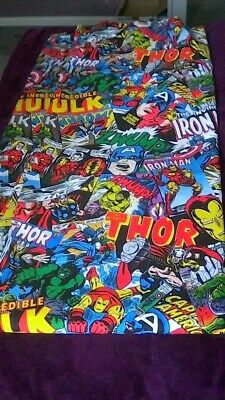 Marvel Avengers Curtains Excellent Condition