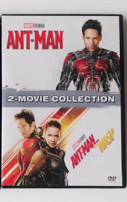 Marvel Lot ANT-MAN 1 2 Antman and the Wasp Movie Collection DVD