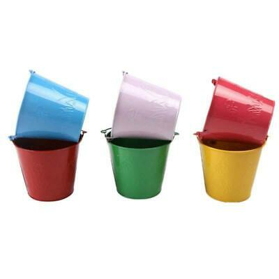 Outdoor Joyful Bucket Toy For Toddlers Kids Iron Barrel Sand Water Containers
