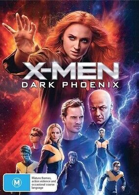 X-MEN Dark Phoenix : NEW DVD