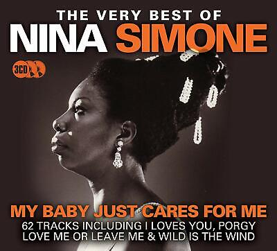 The Very Best Of Nina Simone My Baby Just Cares For Me 3 Cd Boxset