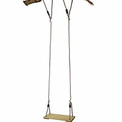 Garden Games 6 Metre Pine Wood Tree Swing with Durable Ropes