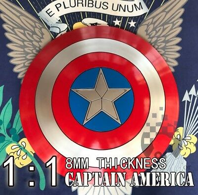 """CAPTAIN AMERICA SHIELD, New design, SCALE 1/1, 22"""" Cosplay, collection"""