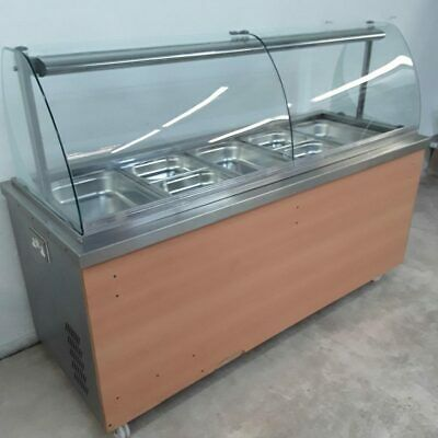 Commercial Hot Cupboard Bain Marie Carvery Trolley