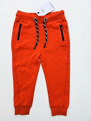 Boys Joggers Red Zipped Pockets Ex M&S Age 18-24 Months RRP £9