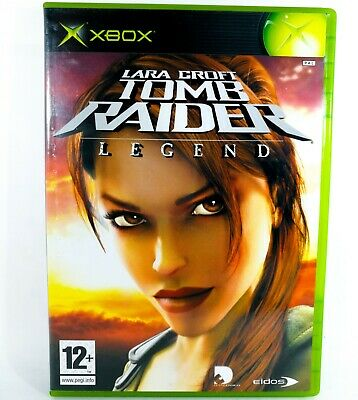 Lara Croft's TOMB RAIDER LEGENDS ~ XBOX ~ Complete Game / A+++ / FREE UK P&P