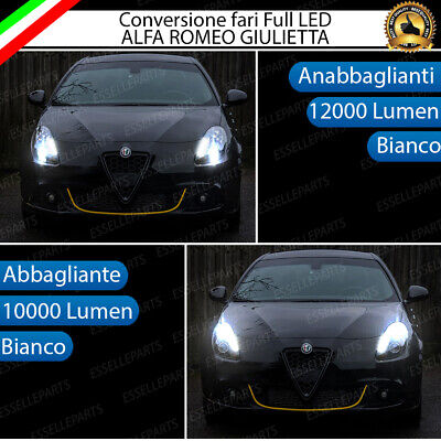 Kit Led Alfa Giulietta Anabbaglianti Mono Led H7 + Abbaglianti Led H1 All In One