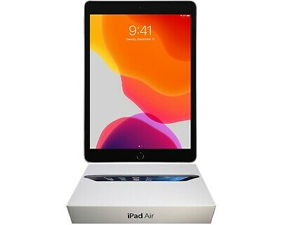 Open Box Apple iPad Air Bundle | 16 GB | Space Gray | Wi-Fi Only & Free Shipping