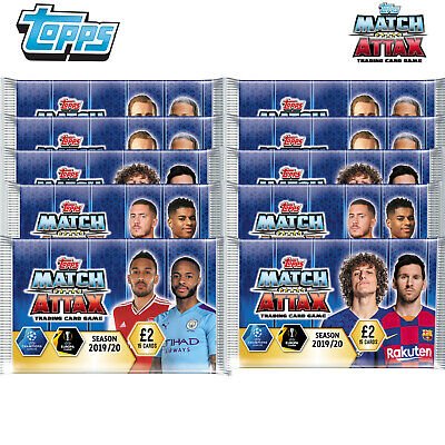 Match Attax 2019/20 - 15 Card Packets Season 2019/20 Trading Game Card Packs