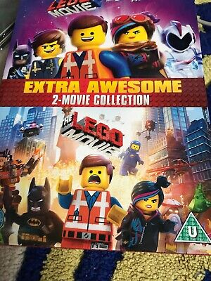 Lego Movie 2 Film Collection DVD NEW