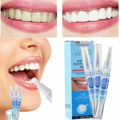 Cleaning Toothpaste Pen Tooth Bleaching Teeth Whitener Gel Stain Remover Clean