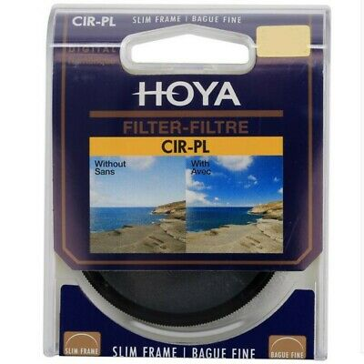 Hoya CIR-PL CPL Polarizer Slim Frame Lens Filter 46 49 52 55 58 62 67 72 77 82mm
