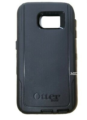 New Original OtterBox Defender Case For Galaxy S6 Black With Holster Belt Clip