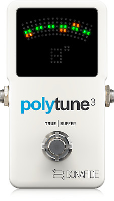TC Electronic Polytune 3 Polyphonic Tuner with Multiple Tuning Modes + Warranty